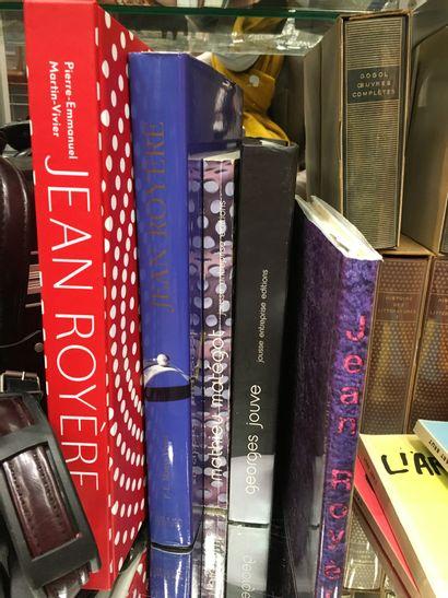 Lot de volumes brochés Jean ROYERE, JOUVE...
