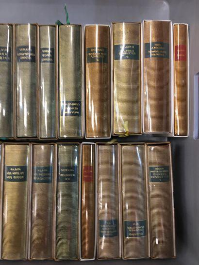 Fort de volumes la Pléïade