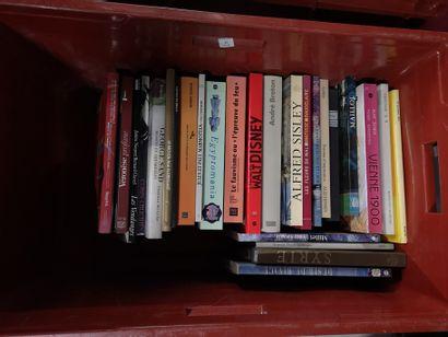 Lot de livres d'arts variés Sand, Sisley,...