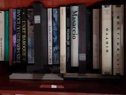 Fort lot de livres Beaux-Arts Giotto, Boticelli,...
