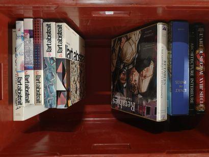 Caisse de livres d'art : L'art de Paris,...