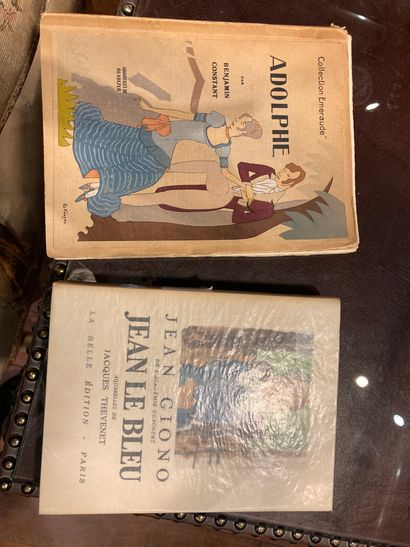 Deux volumes J Giono Jean Le Bleu Adolph...