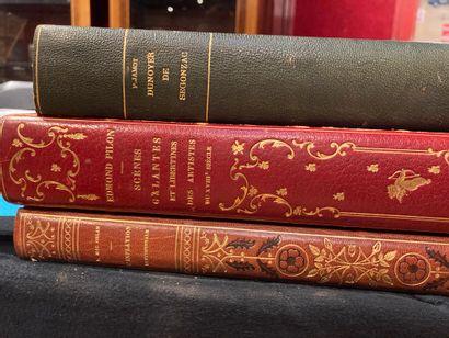 3 volumes Edmond Pilon Scènes galantes et...