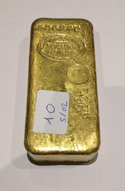 Lingot en or n°506898 996.6 g. Compagnie...