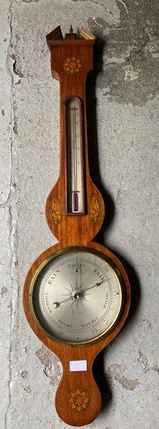 Baromètre anglais  fin XIXème, début XXème...