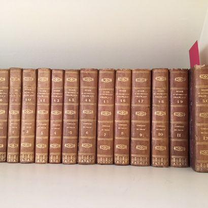 Ensemble de volumes reliés dont suite du...