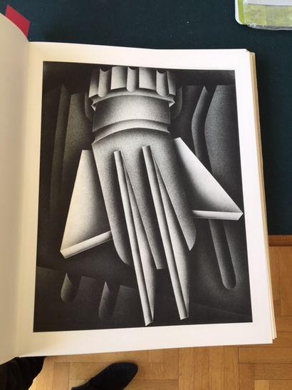 Ouvrages_x000D_  Recueil illustré de 32 lithographies...
