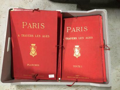 4 volumes ou planches sur Paris à travers...