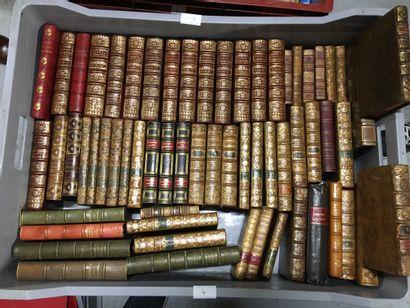 Lot de volumes reliés du XVIIIème et XIXème...