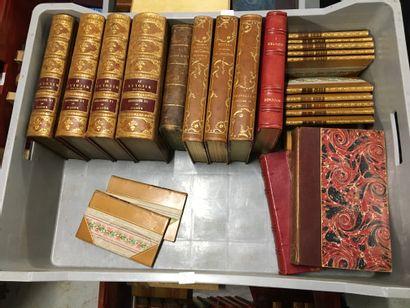 Lot de volumes reliés du XVIIIème et XIXème_x000D_...