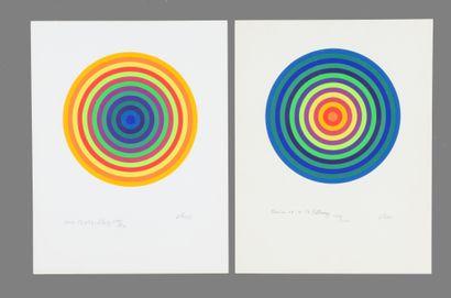 Julio LE PARC (né en 1928)  Composition cinétique...