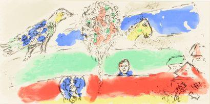 Marc CHAGALL (1887-1985)  Le Fleuve vert....