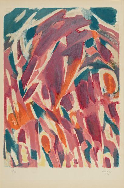 Jean-René BAZAINE (1904-2001)  Sans titre...