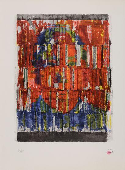 CÉSAR (1921-1998)  Arrachage, c.1963  Lithographie...