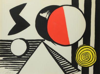 Alexander CALDER (1898-1976)  Le S et le...