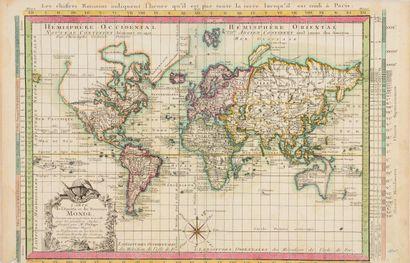 Carte géographique  Carte de l'ancien et...