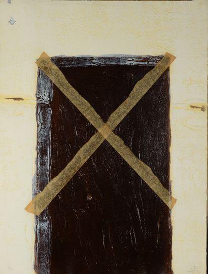Antoni TAPIES (1923-2012)  La grande Porte,...