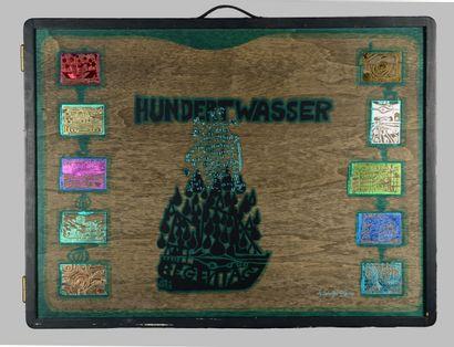 Frederick HUNDERTWASSER (1928-2000)  Look...