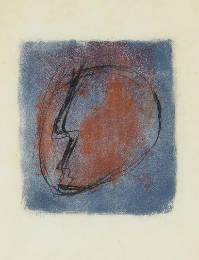 Jean FAUTRIER (1898-1964)  Tête d'otage,...