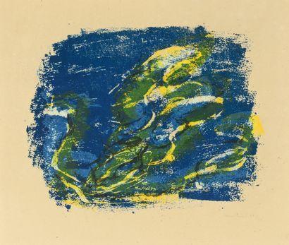 Jean FAUTRIER (1898-1964)  L'Enfer, 1928...