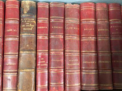 2 manettes de volumes reliés et brochés:...