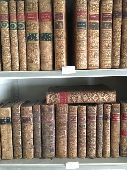 Lot de volumes XVIIIe: Journal de chirurgie,...