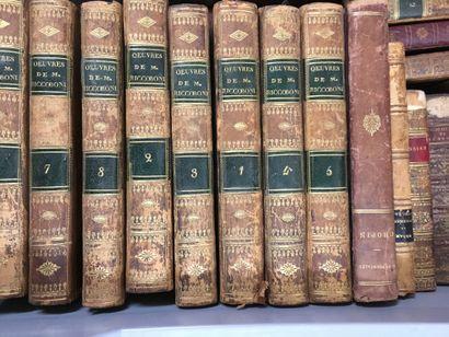2 manettes de volumes reliés dont: bel...