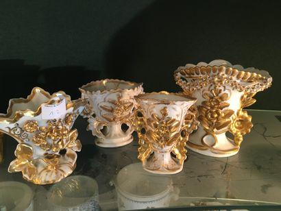 Manette de porcelaines et céramiques : vases...