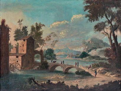 ÉCOLE VÉNITIENNE vers 1800