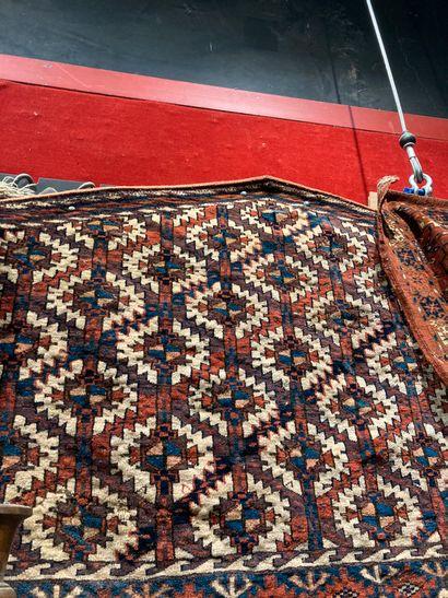 Geometric saddle pad approx. 70 x 140 cm...