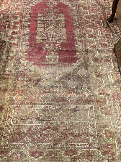 Persian carpet (used) 330 x 160 cm worn...