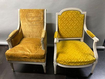 Set including a Louis XVI style armchair...
