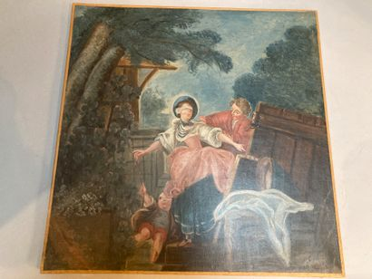 Maillard Hake  Oil on canvas  66 x 65 cm  Wear and tear, restorations  Lot sold...