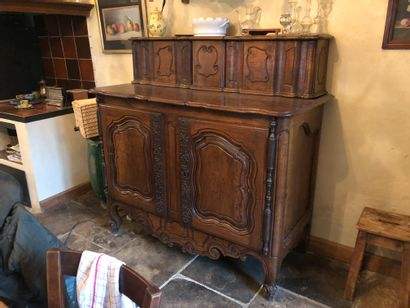 Sideboard with sliding doors Provence H:...