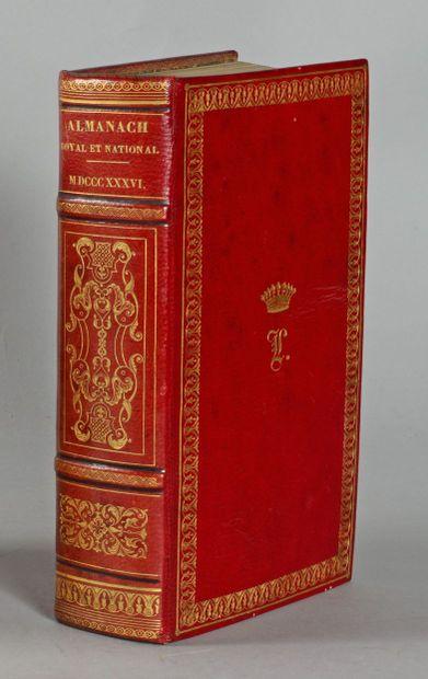 ALMANACH Royal et National pour l'an 1836....