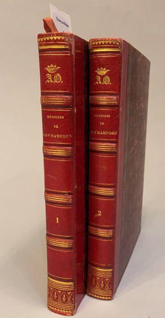 HAMPDEN (John). Mémoires de John Hampden,...