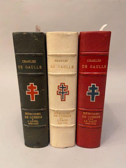 GAULLE (Charles de). Mémoires de guerre....