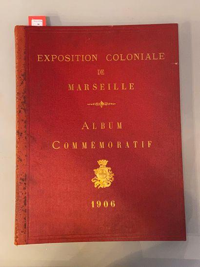EXPOSITION COLONIALE DE MARSEILLE. Album...
