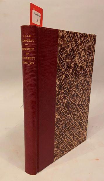 HANOTEAU (Jean) et BONNOT (E.). Bibliographie...