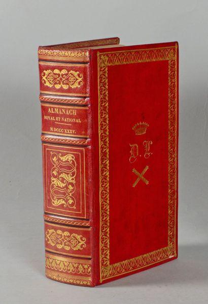 ALMANACH Royal et National pour l'an 1835....