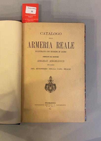 [COLLECTIONS d'ARMES ANCIENNES]. Réunion de 6 catalogues reliés (3) et brochés (3)....