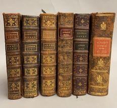 [ALMANACH]. Réunion de 6 Almanachs Royaux...