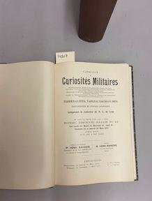 [COLLECTIONS de CURIOSITÉS MILITAIRES]. Réunion de 5 volumes (3 reliés et 2 brochés)....