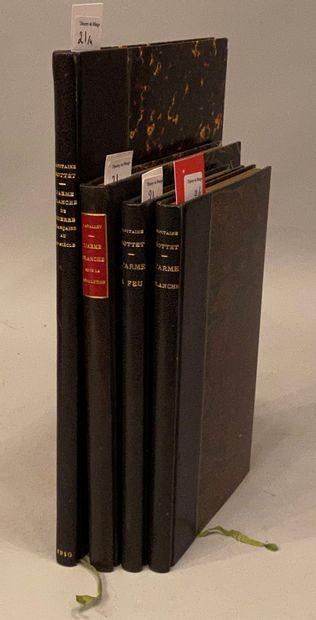 BOTTET (Maurice). Réunion de 3 ouvrages....