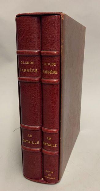 FARRÈRE (Claude). La Bataille. Illustrations...