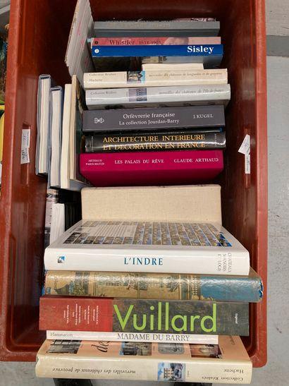 Caisse de livres d'art dont l'Orfèvrerie...