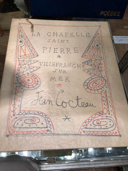 Lot de deux ouvrages : La chapelle Saint-Pierre...
