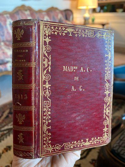 Almanach des dames pour l'an 1813. Tubingue...