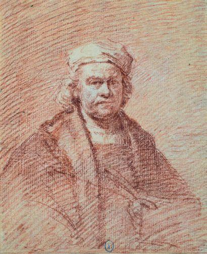 École HOLLANDAISE du XVIIIe siècle, d'après REMBRANDT