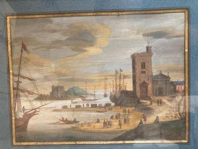 École FLAMANDE du XIXe siècle, suiveur de Louis Nicolas BLARENBERGHE